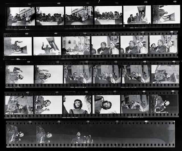 I negativi su pellicola Kodak di quella sessione fotografica di Korda
