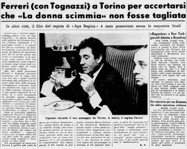 La Stampa di lunedì 3 febbraio 1964
